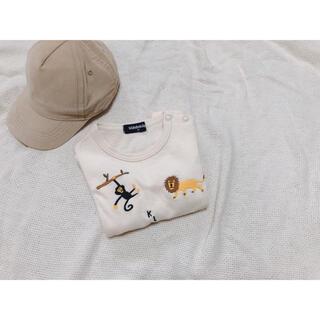 クレードスコープ(kladskap)のグレードスコープ ロングTシャツ ロンT ベビー アニマル トップス (Tシャツ/カットソー)