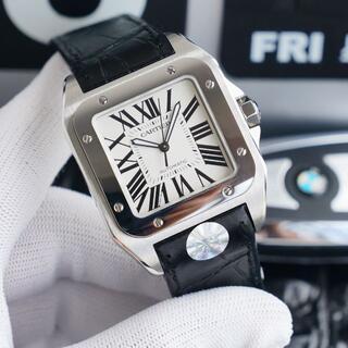 売れ筋!!!カルティエ Cartier サントス メンズ 腕時計