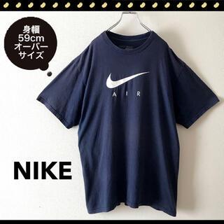 NIKE - NIKE★海外モデルLサイズ★ロゴプリントTシャツ★身幅59cm