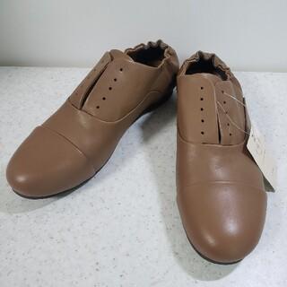 サマンサモスモス(SM2)のSamansaMos2/SM2/サマンサモスモス シューレース レザースリッポン(ローファー/革靴)