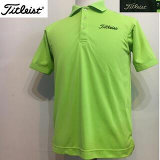 タイトリスト(Titleist)のタイトリスト ゴルフ スポーツシャツ ポロシャツ グリーン Mサイズ(ウエア)