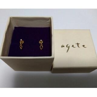 agete - agete K18  スタッドピアス