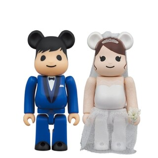 メディコムトイ(MEDICOM TOY)のBE@RBRICK グリーティング結婚 4 PLUS 100% / 400%(その他)
