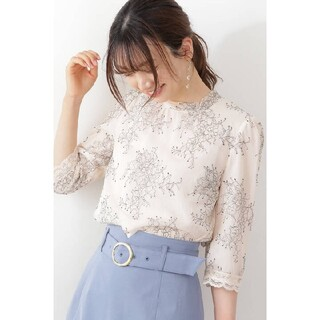 PROPORTION BODY DRESSING - PROPORTION BODY D.Sクラシカルレースバックリボンブラウス♪2