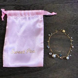 H.P.FRANCE - 【3/9まで】Sweet Pea スイートピー K18 ブレスレット