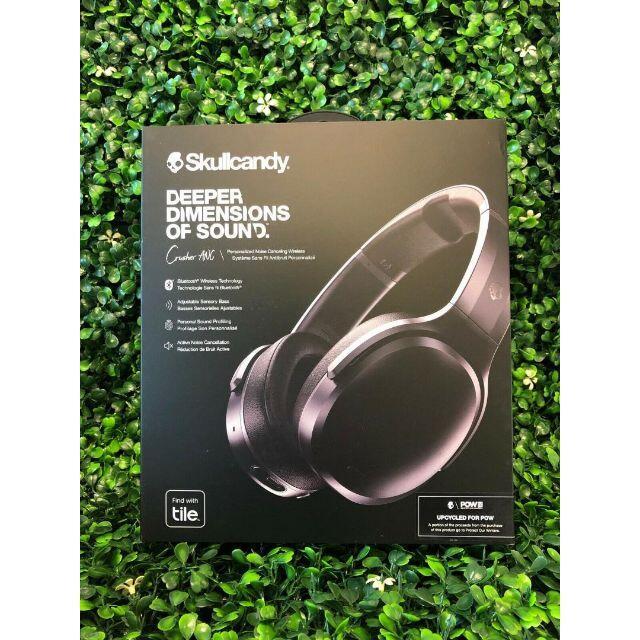 BOSE(ボーズ)の【新品】スカルキャンディcrusherANC ワイヤレスヘッドホン 黒 スマホ/家電/カメラのオーディオ機器(ヘッドフォン/イヤフォン)の商品写真