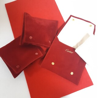 Cartier - カルティエ 保存袋 時計ケース アクセサリーケース 3セット