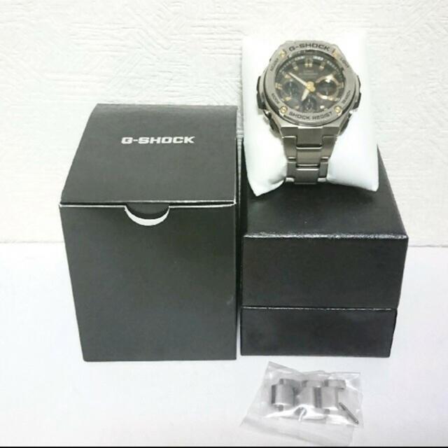 G-SHOCK(ジーショック)のcasio Gスティール 腕時計 メンズの時計(腕時計(デジタル))の商品写真