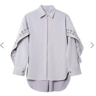 LE CIEL BLEU - Lace Docking Shirt