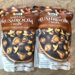 コストコ(コストコ)の✨コストコ しいたけ マッシュルーム  クリスプ 2袋✨(菓子/デザート)