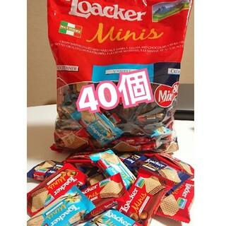 コストコ(コストコ)のローカー ウエハース ミニ アソート 40個(菓子/デザート)
