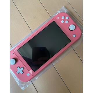 Nintendo Switch - 状態◎Nintendo switch lightコーラルピンク人気色