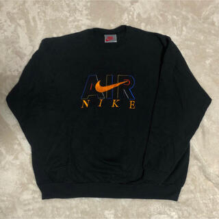 NIKE - 90s ナイキ ビンテージスウェット ビックロゴ 古着 刺繍
