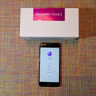HUAWEI - HUAWEI nova2 au版 SIMフリー化済