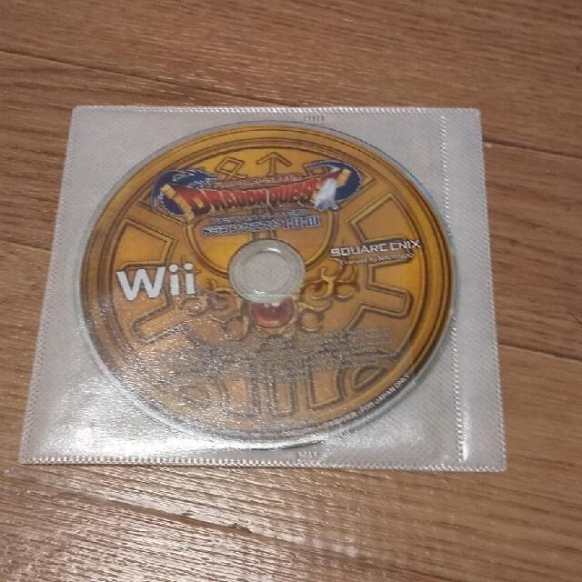 Wii(ウィー)のドラゴンクエスト123  エンタメ/ホビーのゲームソフト/ゲーム機本体(家庭用ゲームソフト)の商品写真