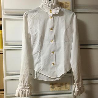 ヴィヴィアンウエストウッド(Vivienne Westwood)のMIilly Molly Monday 立ち襟 フリル ブラウス(シャツ/ブラウス(長袖/七分))
