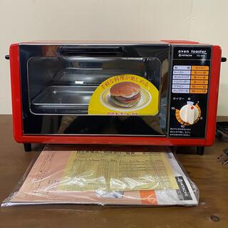 日立 - 昭和レトロ ポップ 日立 オーブントースター 赤