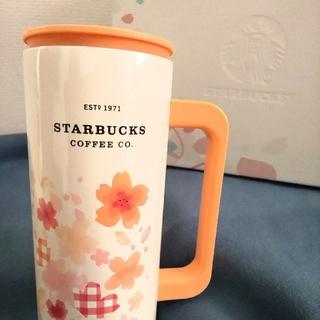 Starbucks Coffee - 【新品】スタバ オンライン限定 さくら ステンレス マグ タンブラー