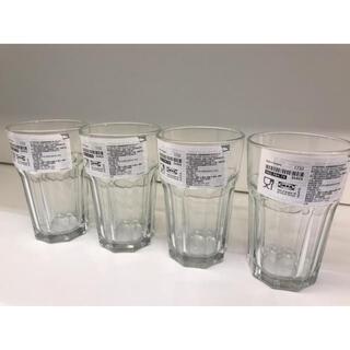 IKEA - 【4個セット】POKAL ポカール グラス, クリアガラス, 350 mℓ