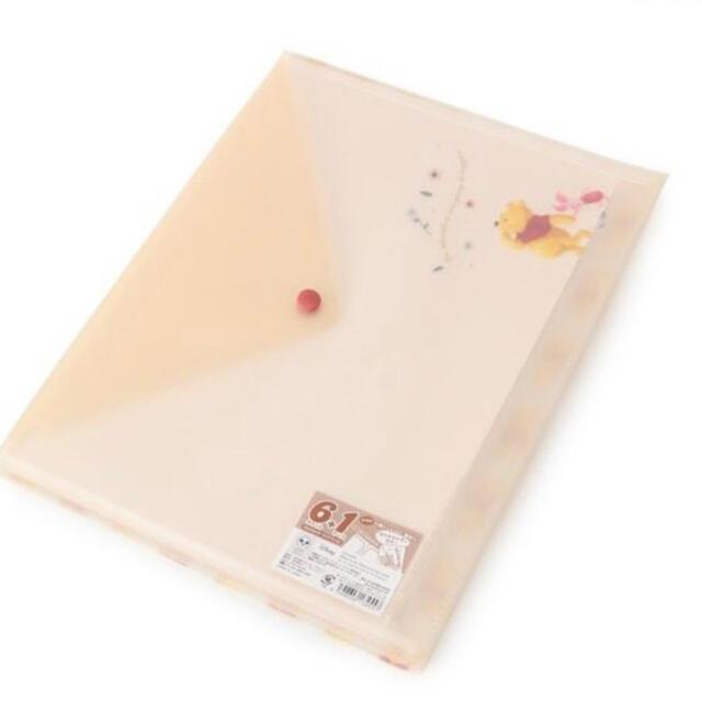 Disney(ディズニー)のプーさん マルチホルダークリアファイル エンタメ/ホビーのおもちゃ/ぬいぐるみ(キャラクターグッズ)の商品写真