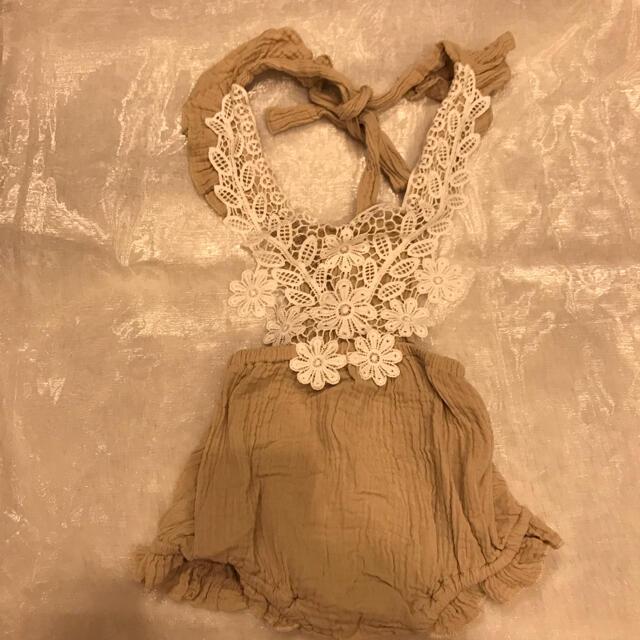 美品♡ ロンパース キッズ/ベビー/マタニティのベビー服(~85cm)(ロンパース)の商品写真