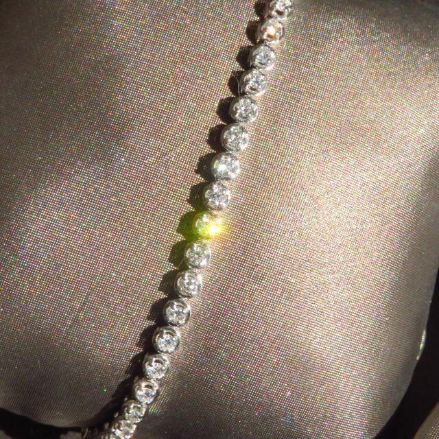 Damiani(ダミアーニ)の【ダミアーニ】上代95万円 ミヌー ダイヤモンドブレスレット 本物 レディースのアクセサリー(ブレスレット/バングル)の商品写真
