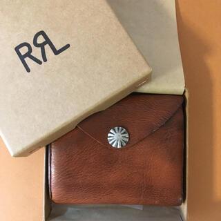 RRL -  RRL  レザー コンチョ ウォレット 新品 未使用 タグ付き 箱付き 財布