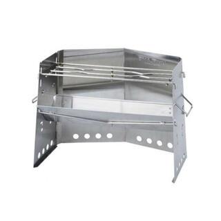 UNIFLAME - ユニフレーム 薪グリル レギュラーサイズ 新品未使用 カマド  BBQ 焚き火台