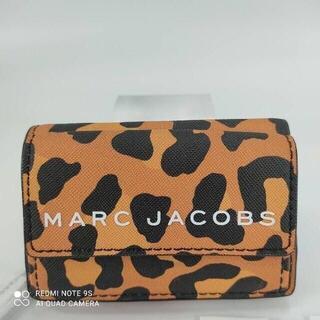 マークジェイコブス(MARC JACOBS)の新品未使用ヒョウ柄マークジェイコブス 三つ折り財布 レオパード(ヒョウ柄)(財布)