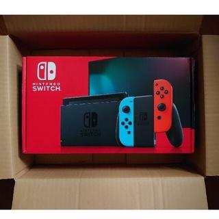 任天堂 - 新品未使用 Nintendo Switch ネオンブルー ネオンレッド 任天堂