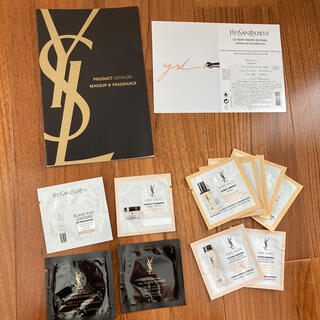 Yves Saint Laurent Beaute - イヴ・サンローランの試供品12点とカタログ