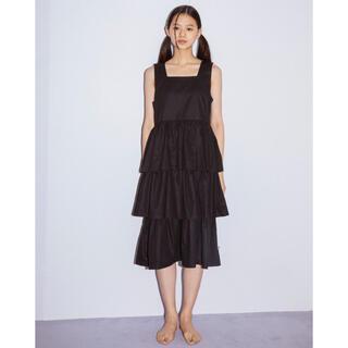 リトルサニーバイト(little sunny bite)のLittle sunny bite  Tiered dress(ひざ丈ワンピース)