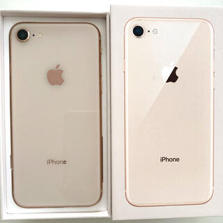 iPhone - 【箱付き】iPhone 8 Gold 64GB SIMフリー 修理歴なし