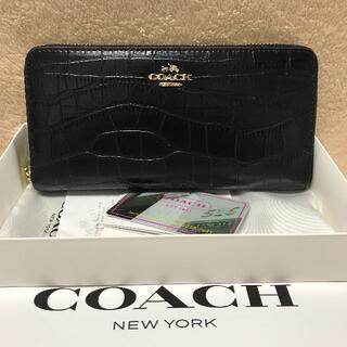 COACH - COACH 財布 コーチ 長財布 新品  YKKファスナー
