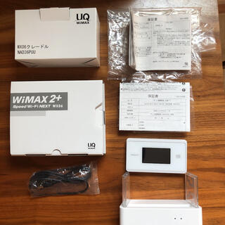 NEC - WiMAX 2+speedwi-Fi next wx06&クレードルセット
