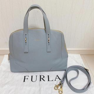 Furla - FURLA フルラ アイスブルー 2wayバッグ ショルダーバッグ ハンドバッグ
