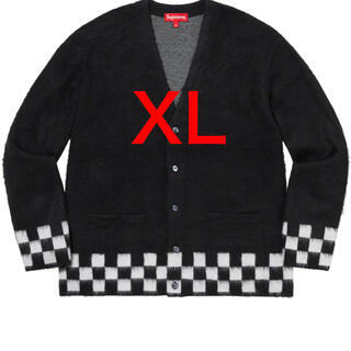 Supreme - Supreme brushed Checkerboard Cardigan XL