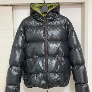美品 DUVETICA デュペティカ ダウンジャケット 黒 ブラック 50 XL