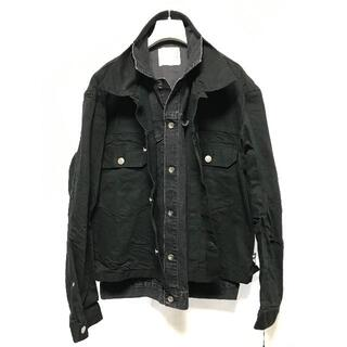 sacai - SACAI 20SS デニムジャケット 黒 サイズ4 新品 綾野剛着用 サカイ