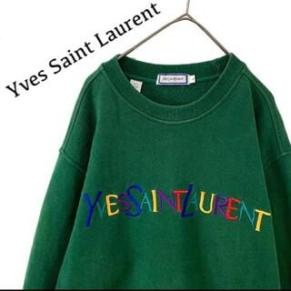 Saint Laurent - Yves Saint Laurent イブサンローラン トレーナー スウェット