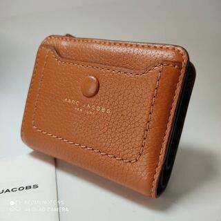 マークジェイコブス(MARC JACOBS)の新品未使用☆MARC JACOBS上品本皮二つ折り財布(財布)