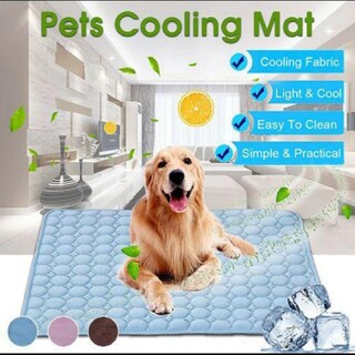犬マット冷却夏パッドマット犬猫通気性ペット犬のベッド夏洗える