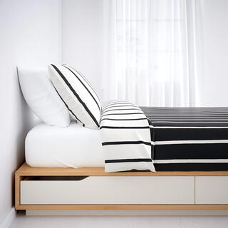 イケア(IKEA)のIKEA MANDAL シングルベッドフレーム(シングルベッド)