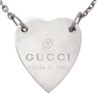 Gucci - グッチ ハートモチーフ ペンダント シルバー925 40800063710