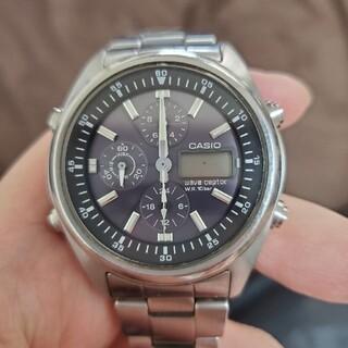 カシオ(CASIO)のCASIOソーラー電波時計 電池切れ(腕時計(アナログ))