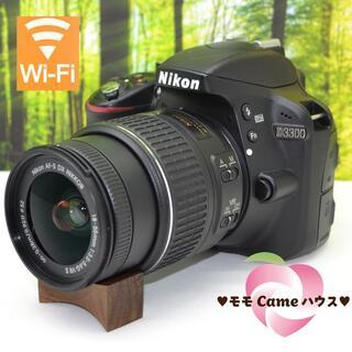 Nikon - ニコン D3300☆スマホに転送OK☆軽くて小さい一眼レフ♪1366