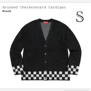 Supreme brushed checkerboard cardigan 最安