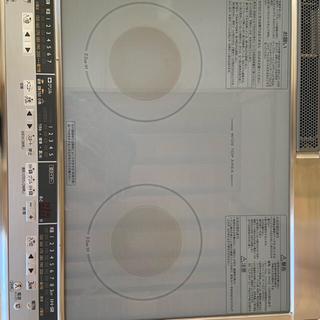 ミツビシデンキ(三菱電機)の■三菱 IHクッキングヒーター 据置タイプ2口IH グレイスシルバー (IHレンジ)