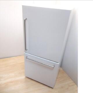 ムジルシリョウヒン(MUJI (無印良品))の無印良品 冷蔵庫 アメリカンスタイル レトロデザイン バータイプ(冷蔵庫)