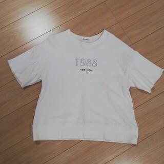 ルクールブラン(le.coeur blanc)のle.coeurblanc ルクールブラン スウェット Tシャツ カットソー(Tシャツ(半袖/袖なし))
